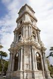 för dolmabahceistanbul för 2010 klocka kalkon torn kalkon royaltyfria bilder