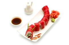 För drakeÐšÑ€Ð°Ñ för sushi röd ½ för ¾ Ð för ¹ Ð'ракРför ‹Ð för ½ Ñ  Ð Royaltyfria Foton