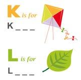 för drakeleaf för alfabet modigt ord royaltyfri illustrationer
