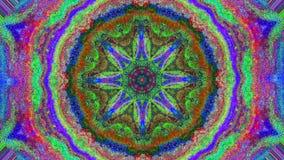 För dynamiskt holographic bakgrund cyberpunkmode för kalejdoskop vektor illustrationer