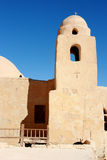 för egypt för århundrade kristen kloster första iv fotografering för bildbyråer
