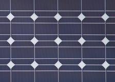 för ekologisk sol- station panelström för detalj Arkivfoton