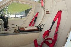 för ekolotkr för 030 cockpit topaz Arkivfoto