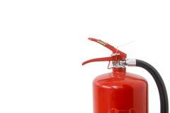 för eldsläckarebrand för bakgrund 3d isolerad white bild Arkivbilder