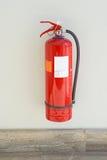 för eldsläckarebrand för bakgrund 3d isolerad white bild Royaltyfria Bilder