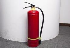 för eldsläckarebrand för bakgrund 3d isolerad white bild Royaltyfri Bild
