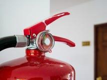 för eldsläckarebrand för bakgrund 3d isolerad white bild Royaltyfria Foton