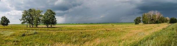 För en thunderstorm Arkivfoto