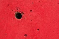 För energivarning för vägg röd bakgrund för krig för textur Arkivbilder