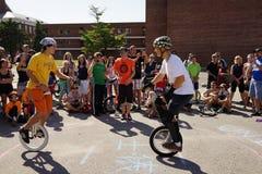 För enhjulingfestival för 2015 NYC delen 2 47 Arkivbilder