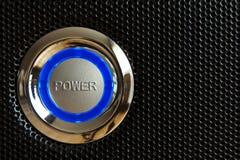 för eps-format för 10 knapp vektor för ström för illustration Royaltyfri Bild