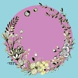 för eps-illustration för 8 cirkel vektor för prydnad royaltyfri foto