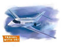 0 för eps-illustration för 8 flygplan tillgängliga version stock illustrationer