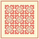 för eps-mapp för 8 bakgrund tappning för vektor blom- bland annat Royaltyfri Foto
