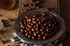 För espressokaffe för choklad dolda bönor Royaltyfria Bilder