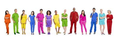För etnicitetenhet för olik mångfald etniskt begrepp för samhörighetskänsla Royaltyfri Foto