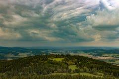 För ett regn Arkivfoto