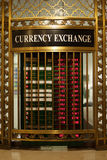 för euroutbyte för härlig valuta 3d dimensionellt diagram illustration tre mycket Royaltyfri Foto