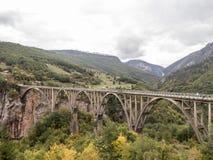 ‡ För eviÄ för ` för Ä-urÄ en bro Royaltyfri Foto