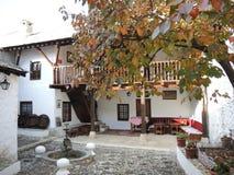 ‡ För eviÄ för ‡ för Mostar BiÅ ¡ Ä ett hus Arkivbilder