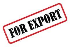 För export royaltyfri illustrationer