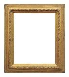 För färgbild för tappning guld- ram arkivfoto