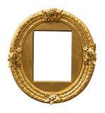 För färgbild för tappning guld- ram royaltyfria foton