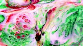 För färgpulvermålarfärg för abstrakt konst tryckvåg exploderar turbulens lager videofilmer