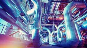 för färgpulverväxt för konst industriell vattenfärg Arkivfoton
