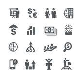 För //för finansiell planläggning strategier affär vektor illustrationer