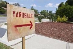 för försäljning gård i dag Arkivbild