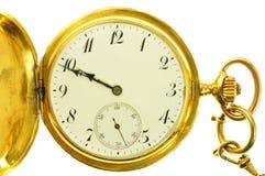 för fackstil för guld gammal watch Royaltyfri Fotografi