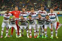¼ för FC Bayern MÃ nchen laget Arkivfoton