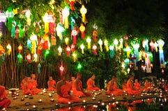 För Festiva för lykta för lyktafestival Mai lChiang royaltyfri foto