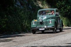 ` 1950 FÖR FIAT 500 C ` TOPOLINO Royaltyfri Bild