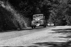 ` 1950 FÖR FIAT 500 C ` TOPOLINO Royaltyfria Bilder