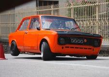 ` För `-Fiat 128 protorype, Royaltyfria Bilder