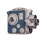 För filmkamera för tappning 8mm profil Arkivfoton