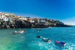 by för fiskare s Arkivbild