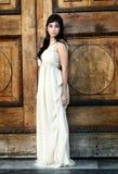för flickalampa för klänning fint barn royaltyfria foton