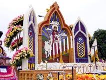 för floattimmen för 2011 bunke lutheranen ståtar rose Royaltyfri Foto