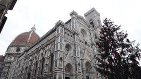 för florence för arkitekturbaptisterydomkyrka för italy arv värld för unesco lokal arkivfilmer
