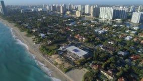 För Florida för guld- strand hem lyxiga strand Arkivfoton