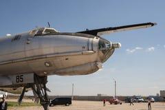 2 för 3 flygplan versionen för ryssen för det berömda krakow för li för flygdc för lisunov museet för modellen den gammala var royaltyfri foto