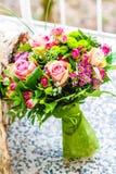 för fokusförgrund för 3 bukett bröllop Royaltyfria Bilder