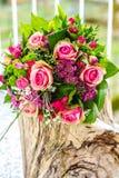 för fokusförgrund för 3 bukett bröllop Royaltyfri Fotografi