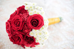för fokusförgrund för 3 bukett bröllop Royaltyfri Bild
