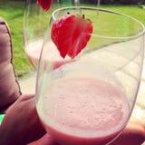 för folklösning för coctail sund jordgubbe Royaltyfri Fotografi