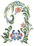 för folkprydnad för konst keramisk ukrainare för krukmakeri Arkivbild