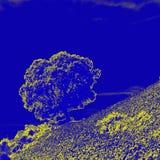 för formatillustratör för 8 extra eps tree för oak Arkivbild